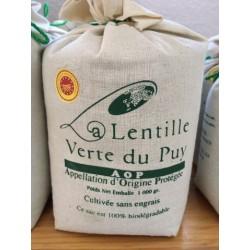 Lentilles Vertes Toile 1kg